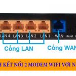 Sự khác nhau giữa cổng LAN và cổng WAN