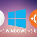 sự khác nhau cơ bản giữa hệ điều hành với một phần mềm ứng dụng