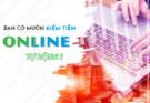 cách kiềm tiền online