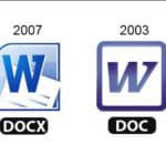 Sự khác nhau giữa file DOC và DOCX