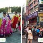 điểm khác biệt giữa Hàn Quốc và Triều Tiên