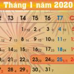 Lịch nghỉ Tết 2020 chính thức mới nhất