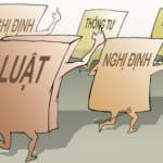 Sự khác nhau giữa Luật, Nghị định, Nghị quyết, Thông tư