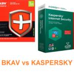 Sự khác nhau giữa Bkav và Kaspersky