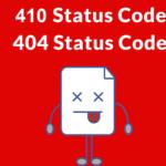 Sự khác nhau giữa lỗi 404 và 410 status code là gì?