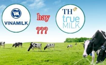 vinamilk và th true milk
